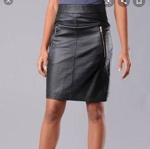 Nwt Cheap Monday Carolina Leather Skirt size Large